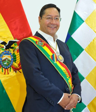 Actual Presidente de Bolivia Don Luis Arce Catacora